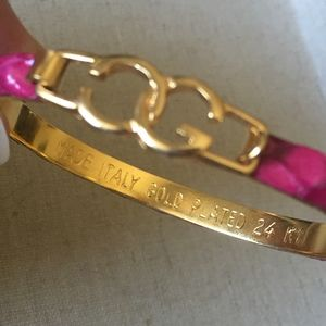 8a4386221 Gucci Jewelry | 2 Vintage 1970s Bracelets 24k Gold Plated | Poshmark